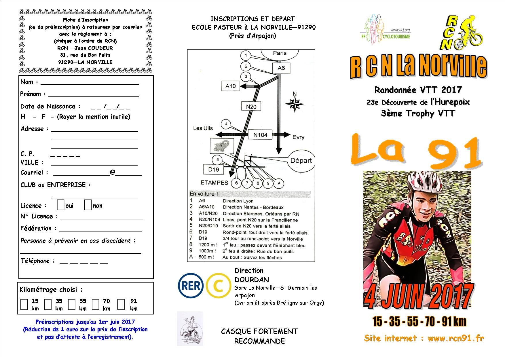 Flyer la91 2017 recto